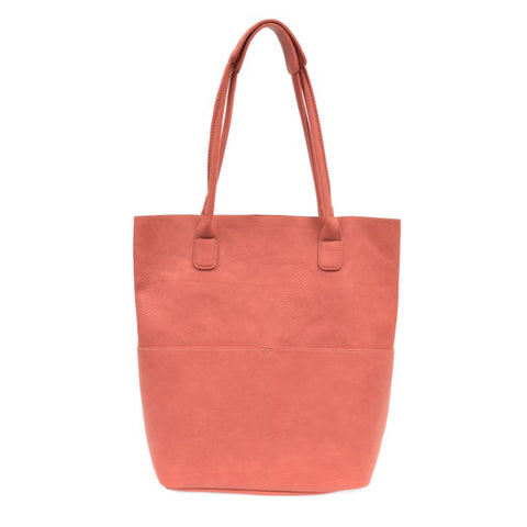 Kelly N/S Front Pocket Tote Coral