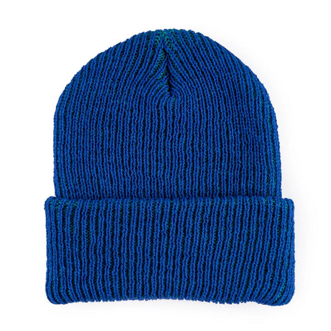 Simple Ribbed Hat Cobalt