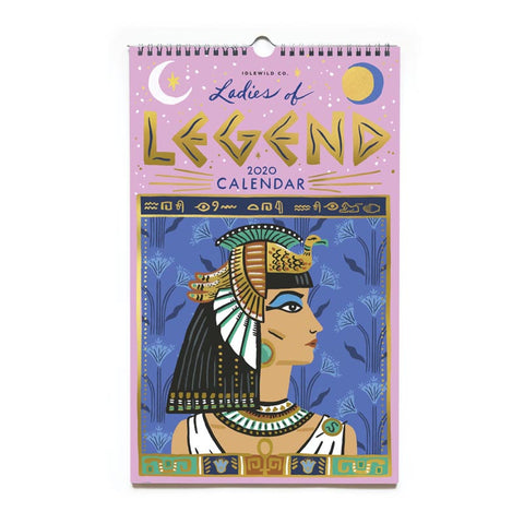Ladies of Legend 2020 Wall Calendar
