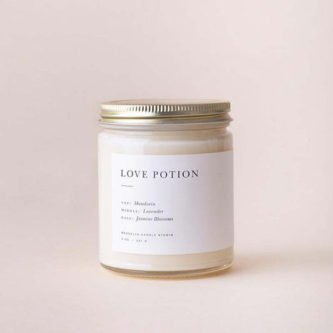 Love Potion Minimalist Jar Candle