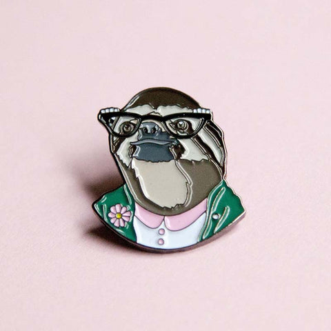 Lady Sloth pin