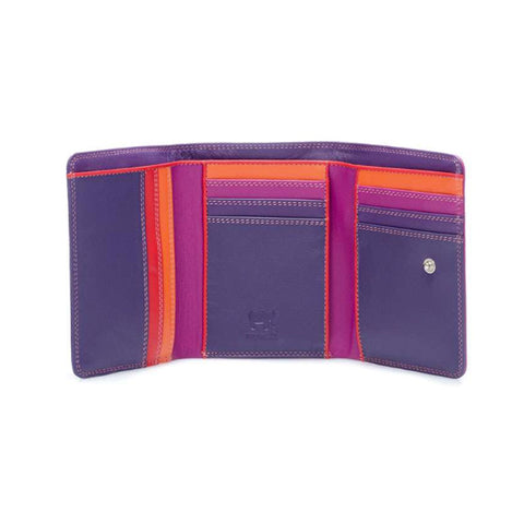 Medium Tri-Fold Wallet - Sangria