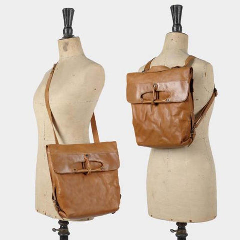 Mrs. Mince Pie Adjustable Backpack/Crossbody Burnt Orange