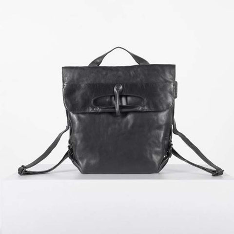 Mrs. Mince Pie Adjustable Backpack/Crossbody Black Smoke