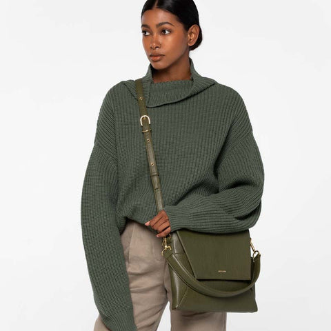 Minka Crossbody/Shoulder Bag Leaf