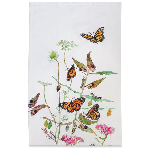 Tea Towel: Monarchs