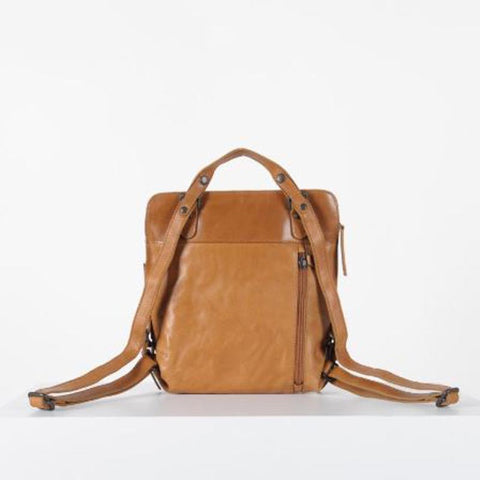 Mrs. Crumble Cookie Backpack/Crossbody Caramel