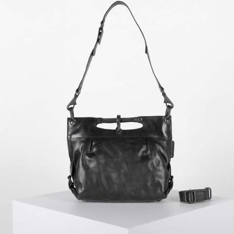 Mrs. Strawberry Muffin Crossbody Black Smoke