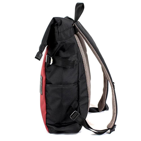 Rolltop Backpack Neo Red