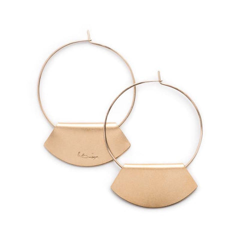 Novi Hoop 14k Gold Plated