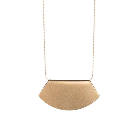 Novi gold necklace
