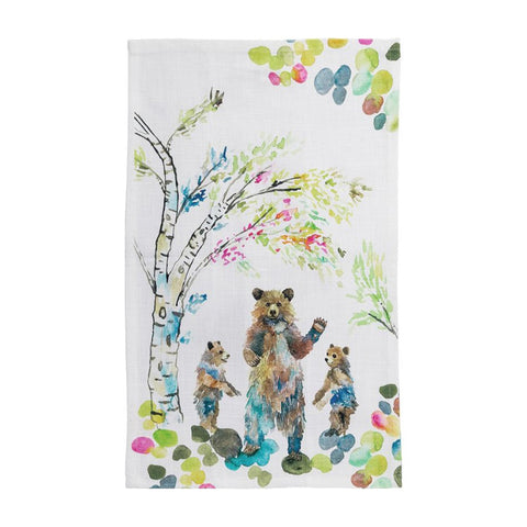Tea Towel: Bears