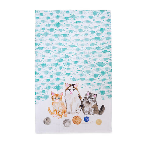 Tea Towel: Kittens