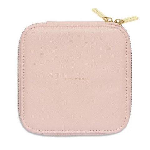 Square Jewelry Box: Blush