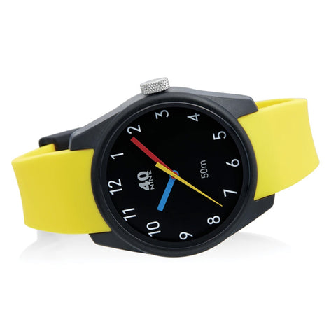 Primary Watch 43mm Yellow Band