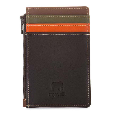 Credit Card Holder with Coin Purse (Safari Multi)
