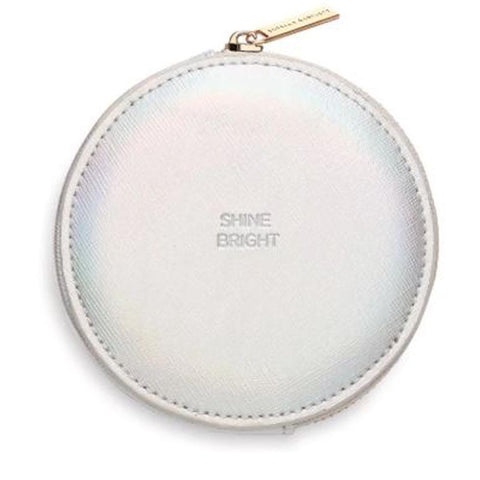 Circle Coin Purse, Iridescent