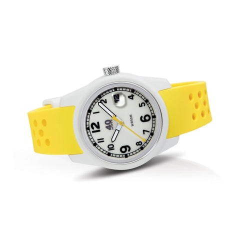 Spartan Watch 35mm Yellow Band