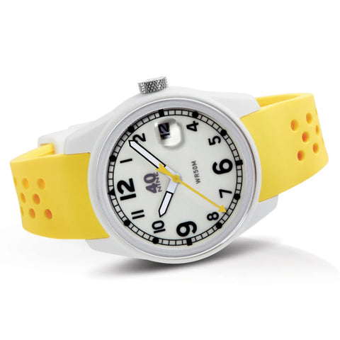 Spartan Watch 43mm Yellow Band