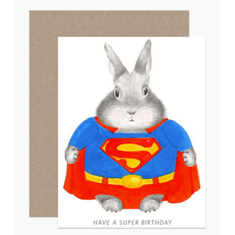 BIRTHDAY: Super Bunny