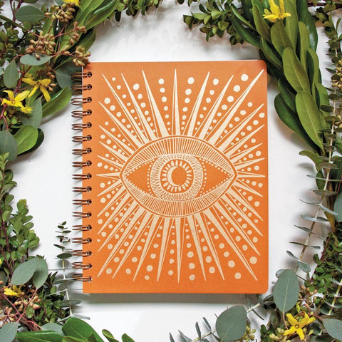Seeing Eye Planner Open Dated Terracotta