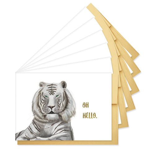 BOXED: Oh Hello Tiger Note Cards
