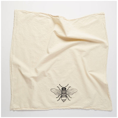 Flour Sack Towel: Bee
