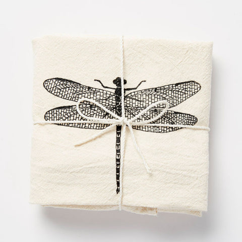 Flour Sack Towel: Dragonfly