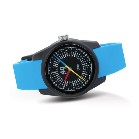 Trio Watch 35mm Blue Band