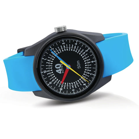 Trio Watch 43mm Blue Band