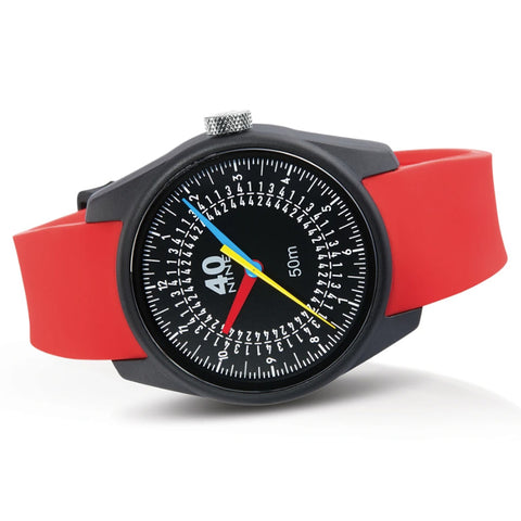 Trio Watch 43mm Red Band