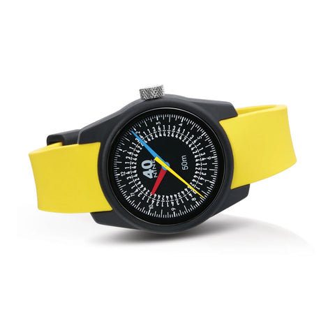 Trio Watch 35mm Yellow Band