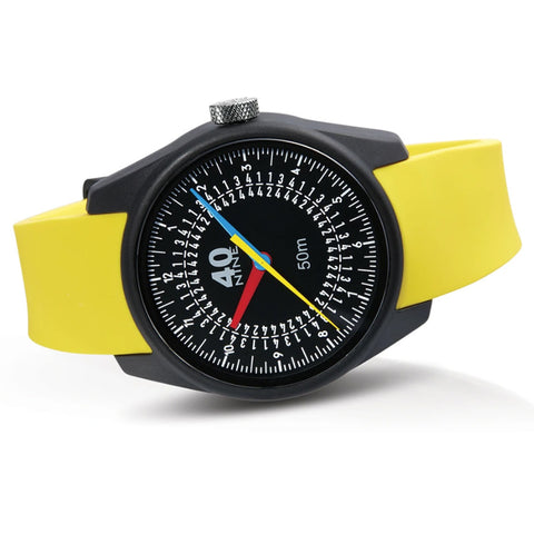 Trio Watch 43mm Yellow Band