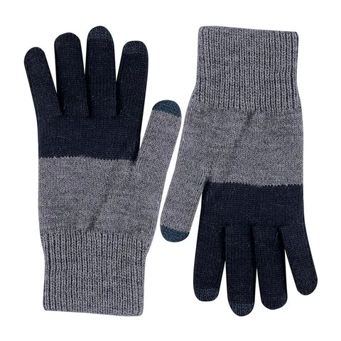 Touchscreen Gloves Black/Charcoal Grey