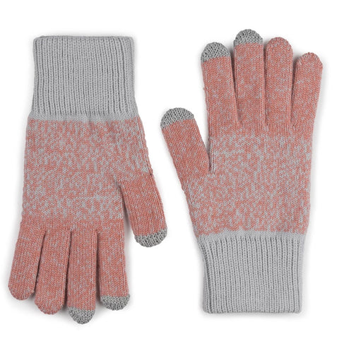 Touchscreen Gloves Coral Mist