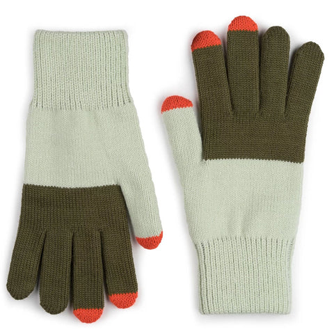 Touchscreen Gloves Olive Jade