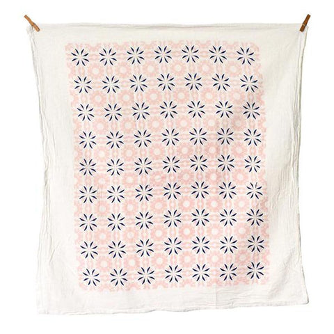 Chicory Vintage Pink Tea Towel