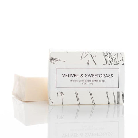 Vetiver & Sweet Grass Shea Butter soap