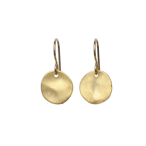 Viv gold earrings