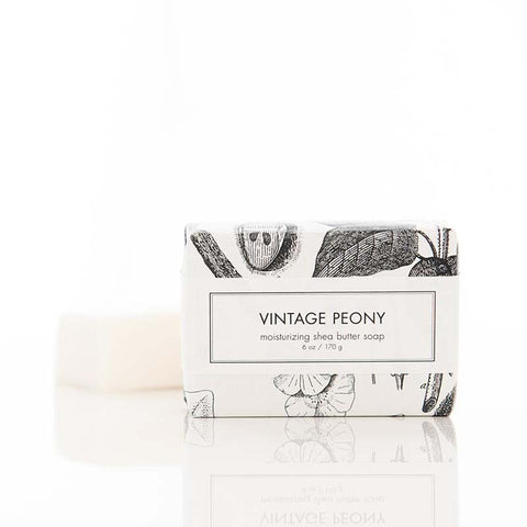 Vintage Peony Shea Butter soap