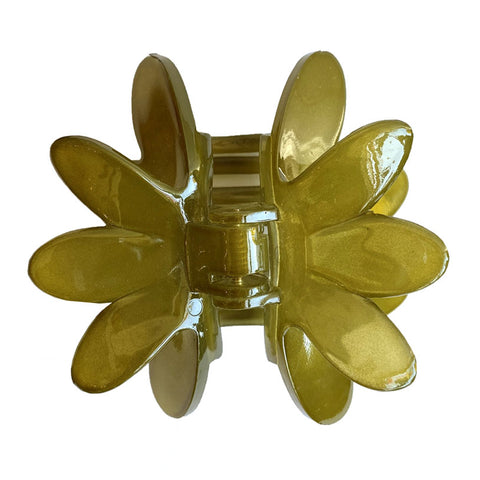 Waterlily Pinch Clip Green