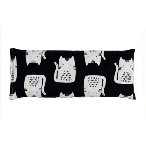 Lavender Eye Pillow Black Cat