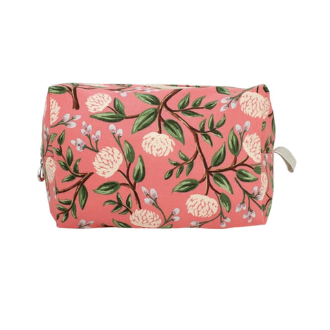 Large Dopp Bag Coral Peony