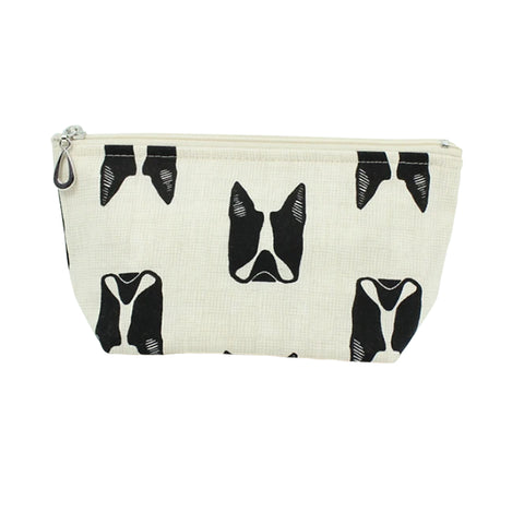 Small Cosmetic Bag Dogs
