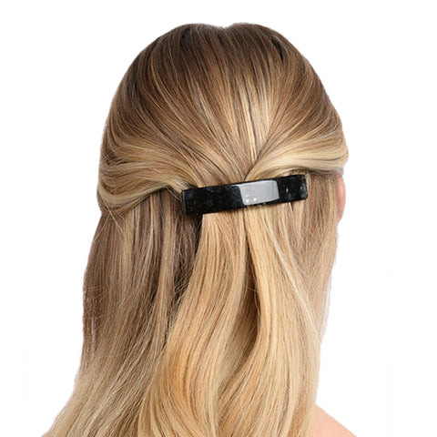 Classic Rectangle Barrette: Alba