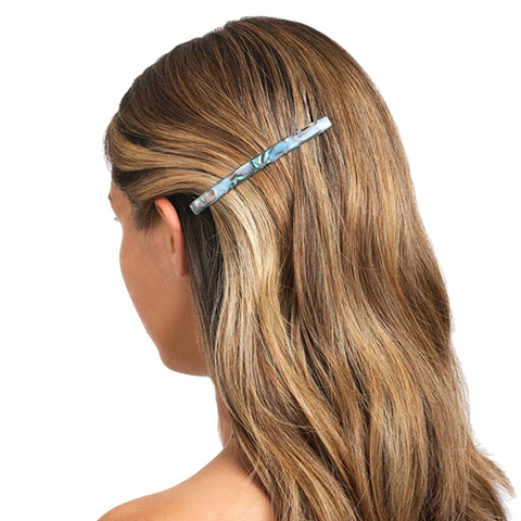 Long Skinny Classic Barrette: South Sea