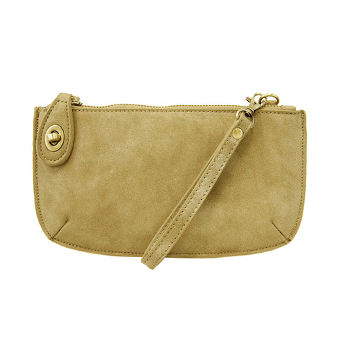 Lux Crossbody Wristlet Chartreuse