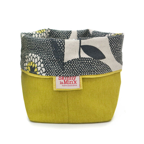 Medium Soft Bucket Flower Fields Penny Black