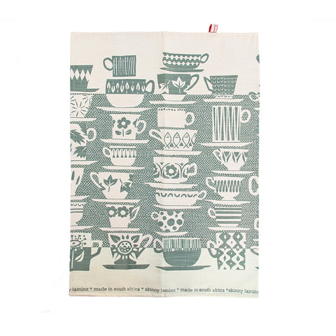 TEA TOWEL: When Everyone Came To Tea Wedgewood