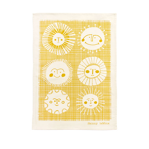 TEA TOWEL: Sunnyside Gold